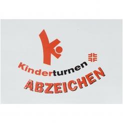 20 x Kinderturn-Abzeichen Aufkleber (Auflage 2009)