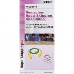 Rope Skipping-Abzeichen Flyer