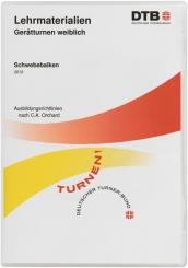 DVD Lehrmaterialien Gerätturnen weiblich - Schwebebalken