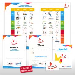 Kinderturn-Abzeichen - Basispaket