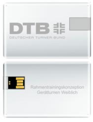 USB-Stick DTB Rahmentrainingskonzeption Gerätturnen weiblich