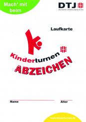 20 x Kinderturn-Abzeichen Aufgabenkarten