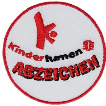 10 x Kinderturn-Stoffabzeichen