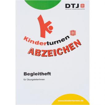 Restposten Kinderturn-Abzeichen Begleitheft (Auflage 2009)