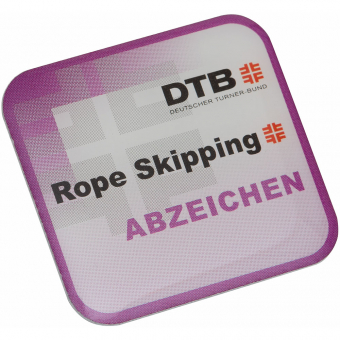 Rope Skipping-Abzeichen Pin