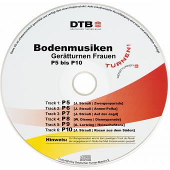 CD Bodenmusiken Gerätturnen Frauen