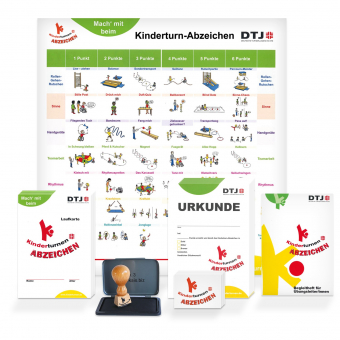 Kinderturn-Abzeichen - Materialpaket 100
