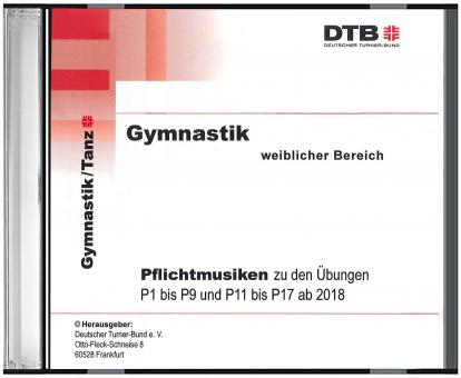 CD Pflichtmusiken Gymnastik weiblich