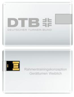 DTB Rahmentrainingskonzeption Gerätturnen weiblich