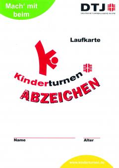 10 x Kinderturn-Abzeichen Aufgabenkarten