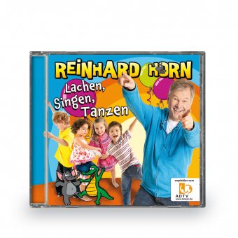 Lachen, Singen, Tanzen - CD