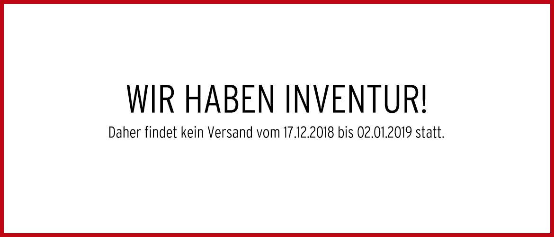 Banner 8 - Inventur